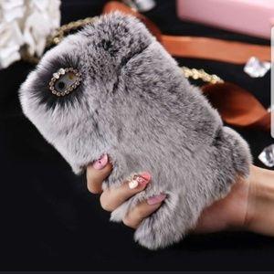 Fuzzy Phone Case Samsung S7